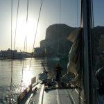 Aqua in Gibraltar - kurz nach der Tankstelle