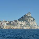Aqua vorbei am Felsen von Gibraltar