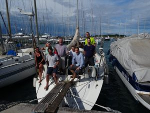 Aqua Spinnakertraining Teamcharter