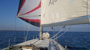 Aqua bei Spiwetter retour von Venedig nach Lignano