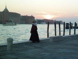 Aqua beim Carneval in Venedig